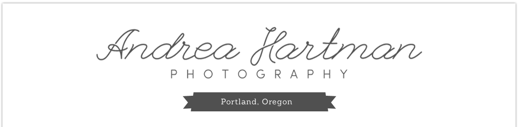 Portland, Oregon Family Photography by Salem Oregon Photographer Andrea Hartman logo